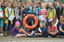 At the end of summer school science 2015
