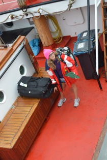 All my luggage and my big offshore jacket